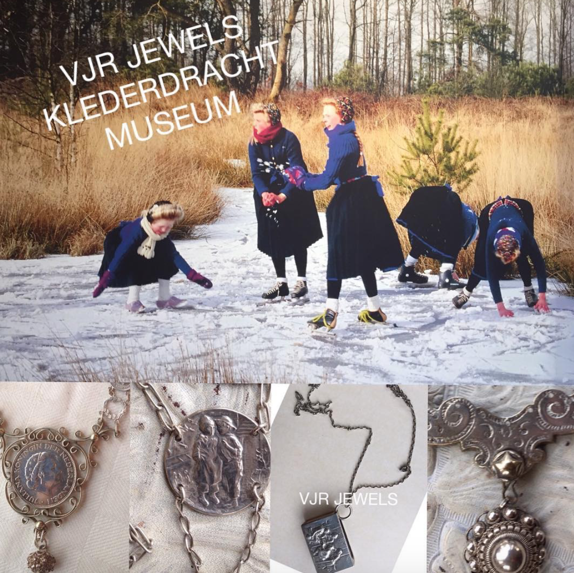 New VJR Jewels sellingpoint @Klederdrachtmuseum
