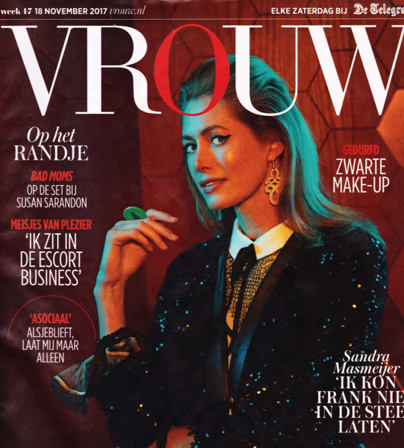 VJR Jewels on the cover Magazine Vrouw