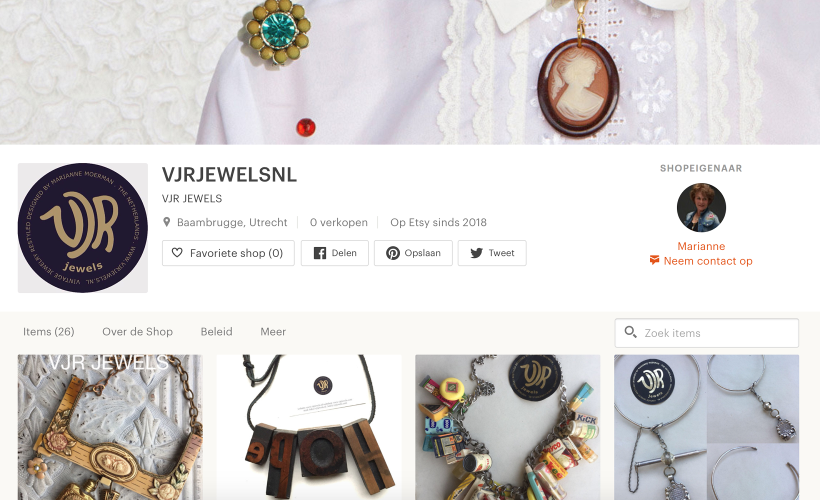 New Sellingpoint VJR Jewels op Etsy.com