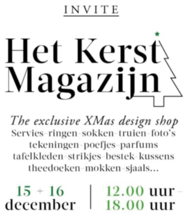 VJR Jewels invites you @Het KerstMagazijn
