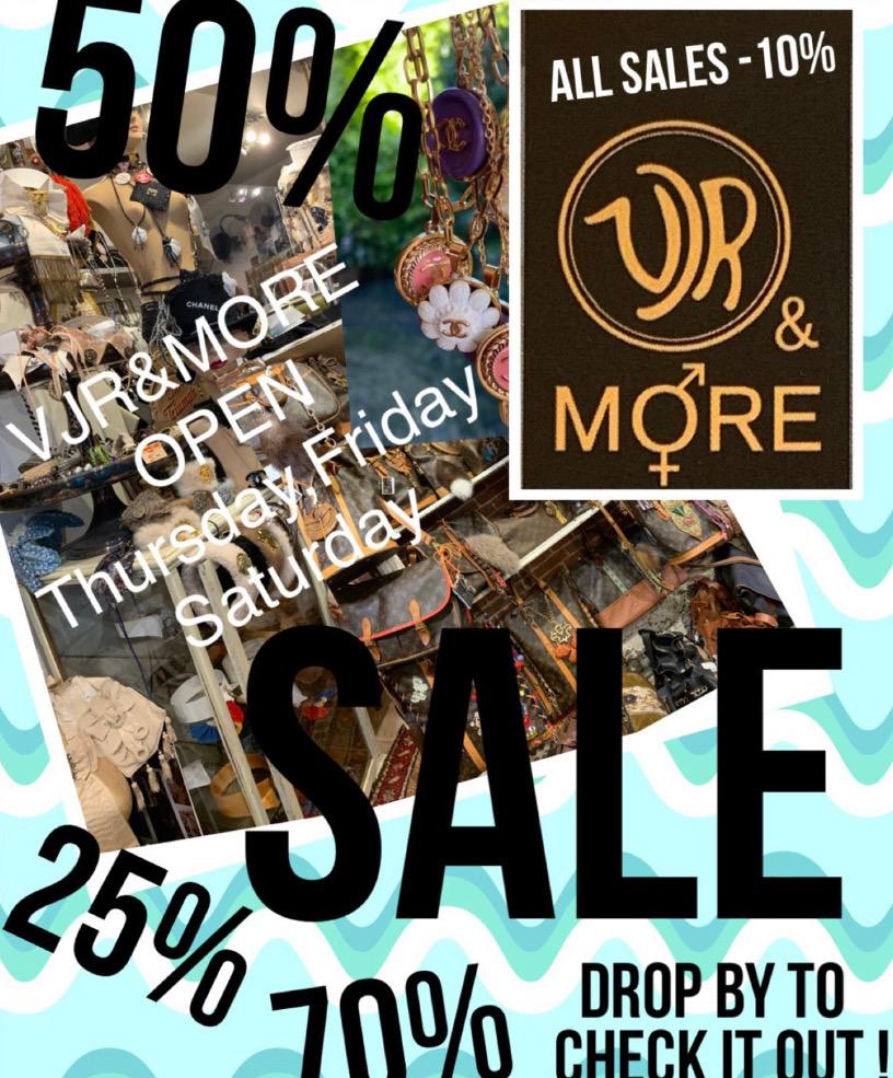 Sale @Studio VJR&MORE